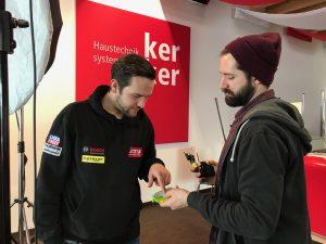 Philipp Koch und Marco Petz: Technikprofis unter sich